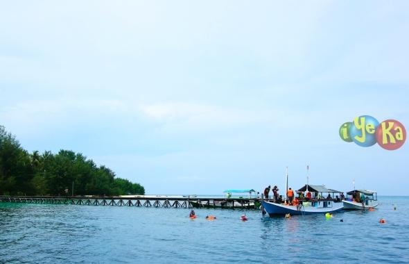 Spot snorkling di Pulau Kecil